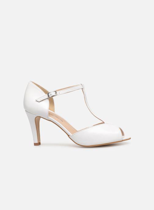Zapatos de tacón Georgia Rose Souazic Blanco vistra trasera