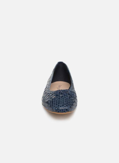 Ballerines Georgia Rose Satellia Bleu vue portées chaussures
