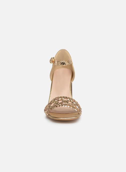 Sandales et nu-pieds Georgia Rose Sobella Or et bronze vue portées chaussures