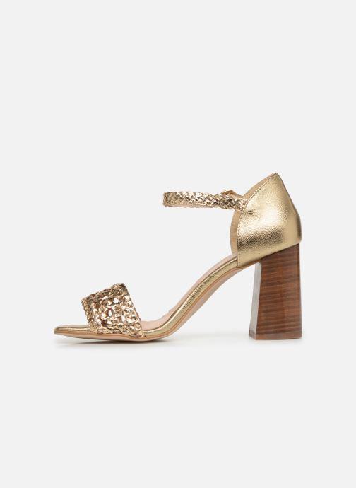 Sandales et nu-pieds Georgia Rose Sobella Or et bronze vue face