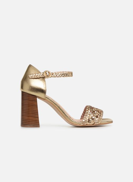 Sandales et nu-pieds Georgia Rose Sobella Or et bronze vue derrière