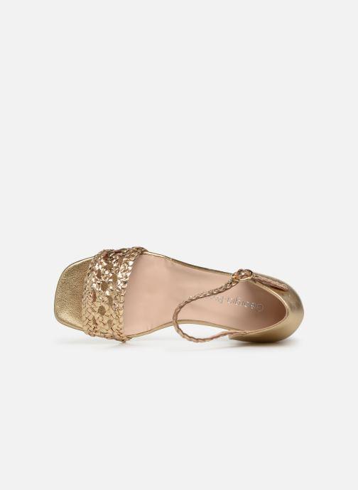 Sandales et nu-pieds Georgia Rose Sobella Or et bronze vue gauche