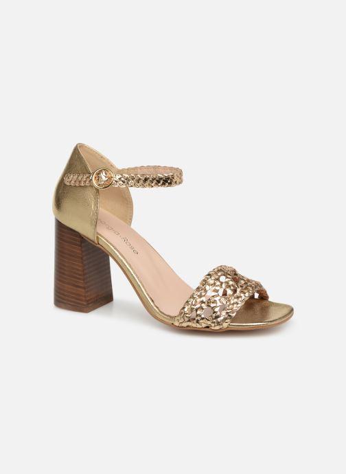 Sandales et nu-pieds Georgia Rose Sobella Or et bronze vue détail/paire