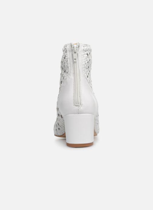 Bottines et boots Georgia Rose Sowhite Blanc vue droite