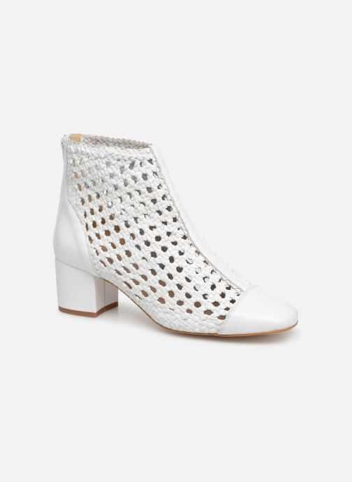 Bottines et boots Georgia Rose Sowhite Blanc vue détail/paire
