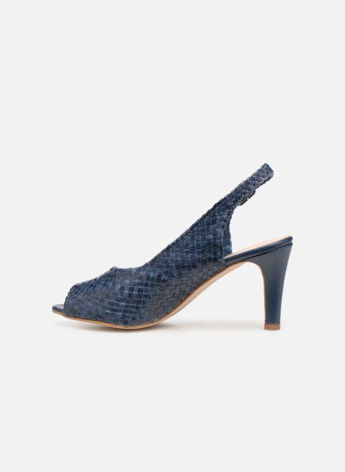 Zapatos de tacón Georgia Rose Strellia Azul vista de frente