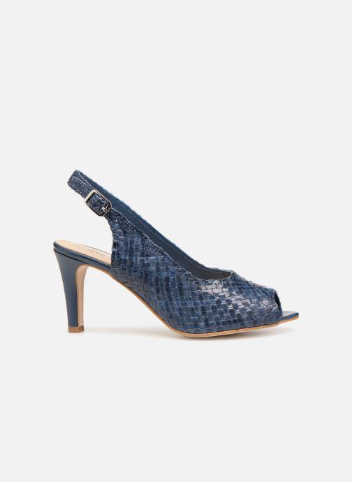 Zapatos de tacón Georgia Rose Strellia Azul vistra trasera