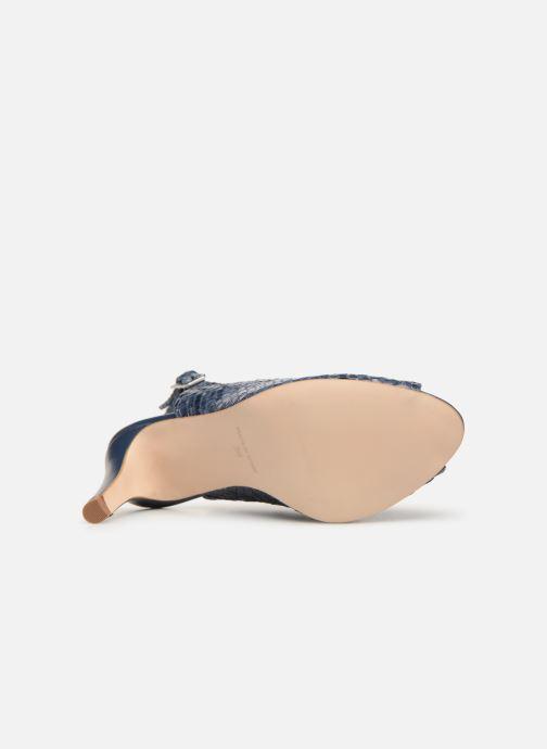 Zapatos de tacón Georgia Rose Strellia Azul vista de arriba