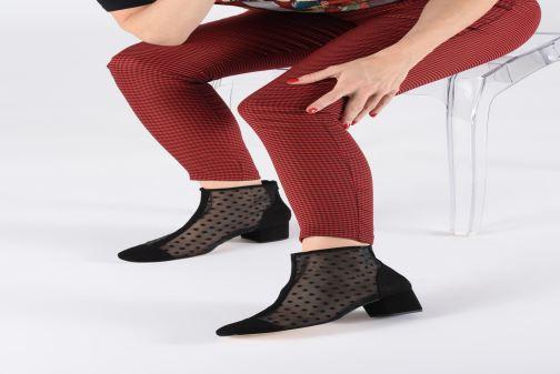 Bottines et boots Georgia Rose Soblack Noir vue bas / vue portée sac