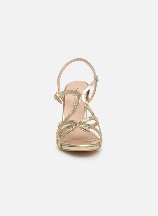 Sandales et nu-pieds Georgia Rose Saulvana Or et bronze vue portées chaussures