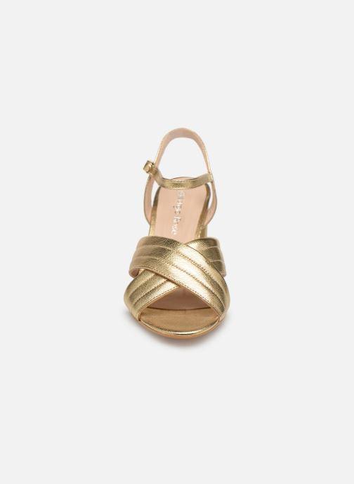 Sandales et nu-pieds Georgia Rose Souheila Or et bronze vue portées chaussures
