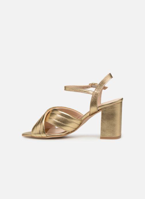 Sandales et nu-pieds Georgia Rose Souheila Or et bronze vue face