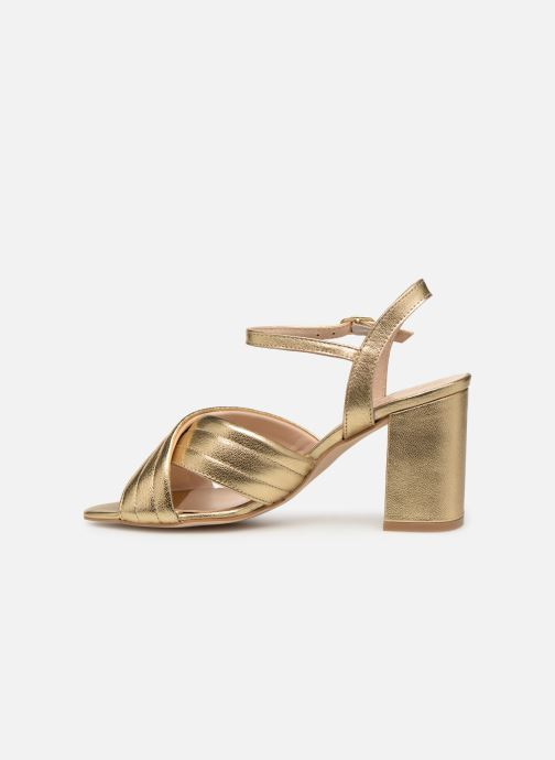 Sandals Georgia Rose Souheila Bronze and Gold front view