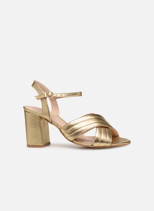 Sandales et nu-pieds Georgia Rose Souheila Or et bronze vue derrière