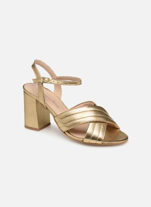 Sandales et nu-pieds Georgia Rose Souheila Or et bronze vue détail/paire