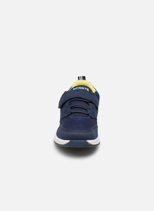 Baskets Lacoste L.ight 119 1 Kids Bleu vue portées chaussures