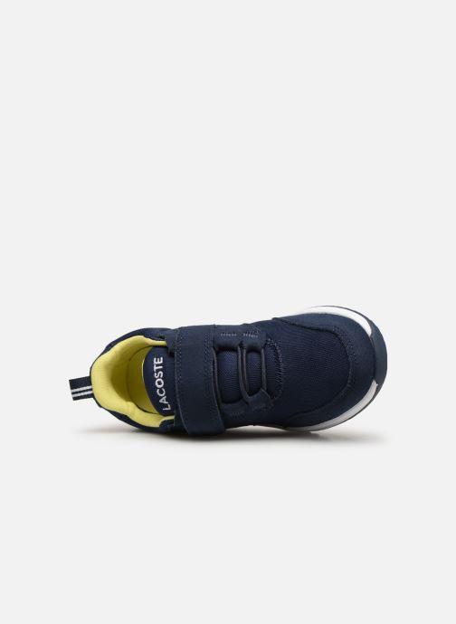 Sneaker Lacoste L.ight 119 1 Kids blau ansicht von links