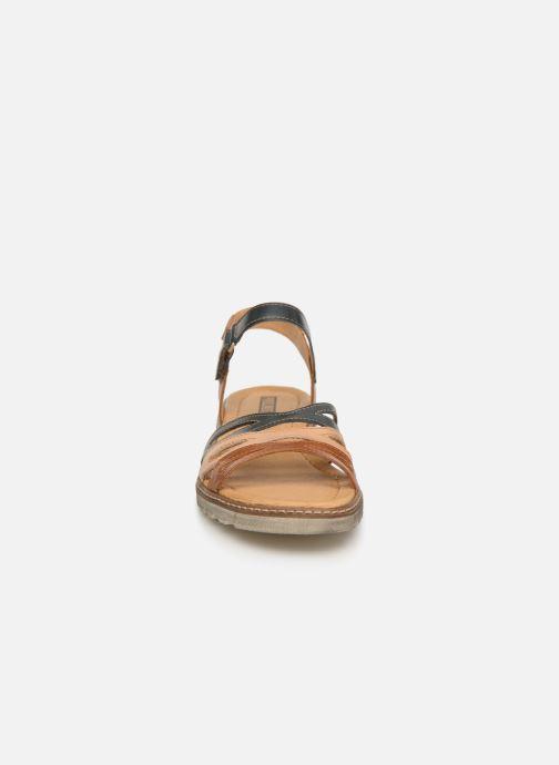 Sandales et nu-pieds Pikolinos Alcudia W1L-0523 Marron vue portées chaussures