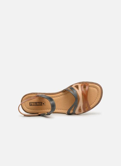 Sandales et nu-pieds Pikolinos Alcudia W1L-0523 Marron vue gauche