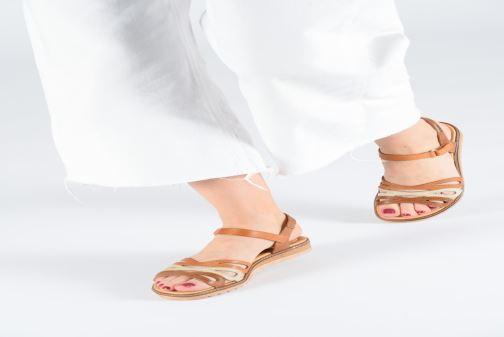 Sandales et nu-pieds Pikolinos Alcudia W1L-0523 Marron vue bas / vue portée sac