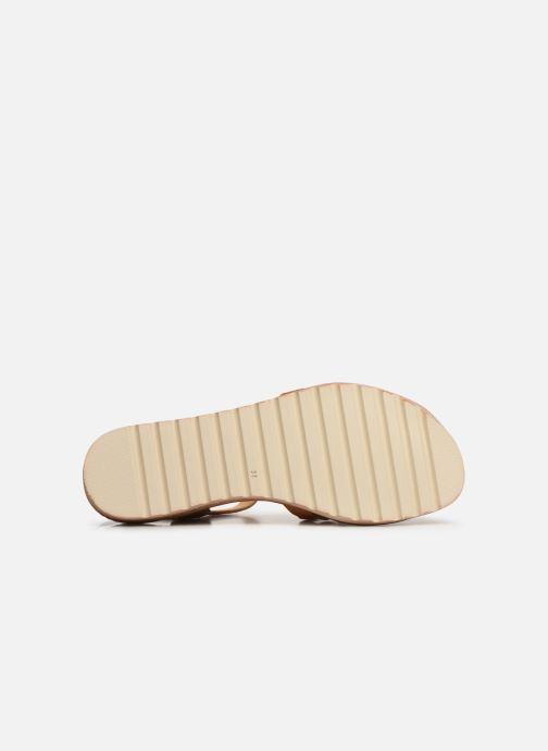 Sandales et nu-pieds Pikolinos Alcudia W1L-0523 Marron vue haut