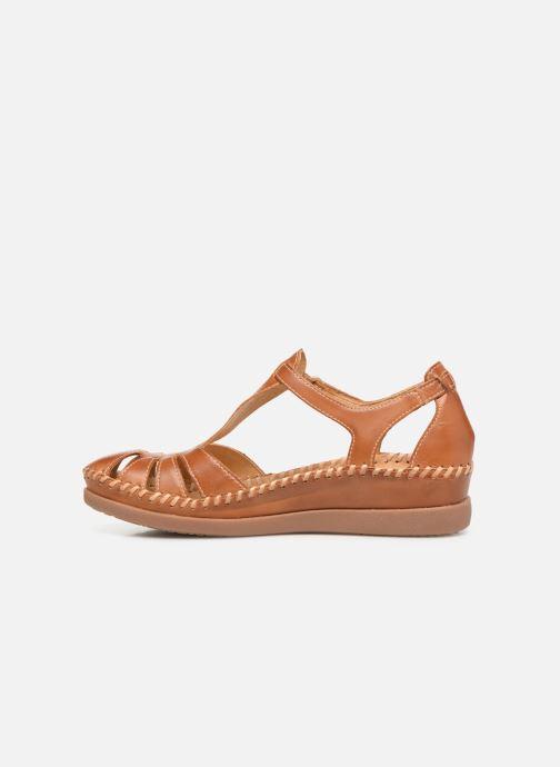 Sandales et nu-pieds Pikolinos Cadaques W8K-0802 Marron vue face