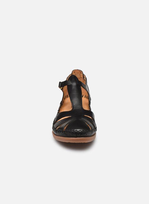 Sandalen Pikolinos Cadaques W8K-0802 schwarz schuhe getragen