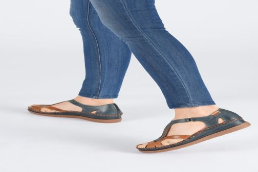 Sandales et nu-pieds Pikolinos Cadaques W8K-1569C1 Bleu vue bas / vue portée sac