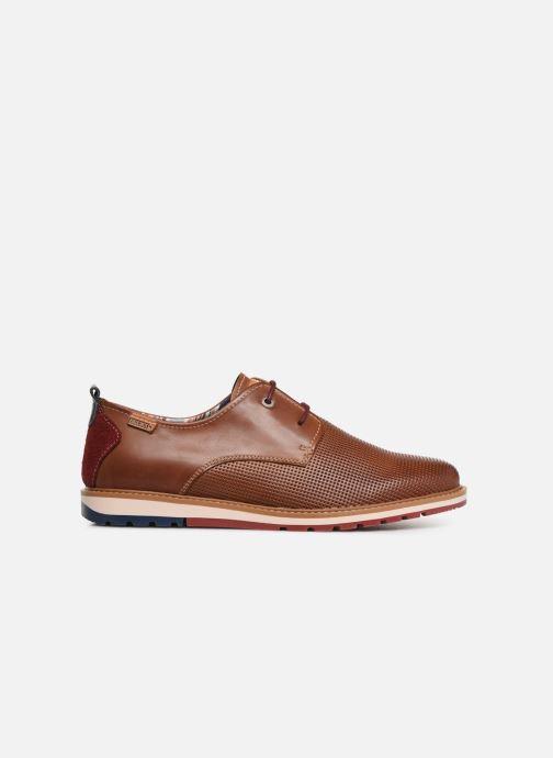 Zapatos con cordones Pikolinos Berna M8J-4273 Marrón vistra trasera