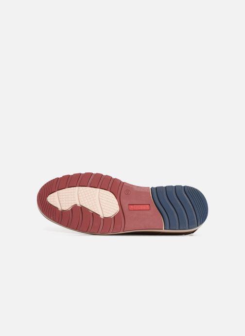 Zapatos con cordones Pikolinos Berna M8J-4273 Marrón vista de arriba
