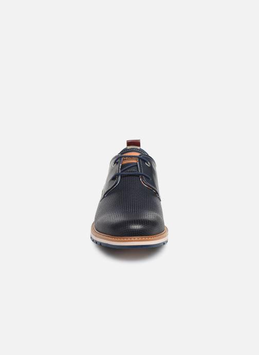 Zapatos con cordones Pikolinos Berna M8J-4273 Azul vista del modelo