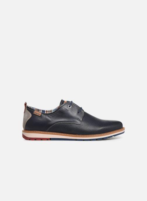 Zapatos con cordones Pikolinos Berna M8J-4273 Azul vistra trasera