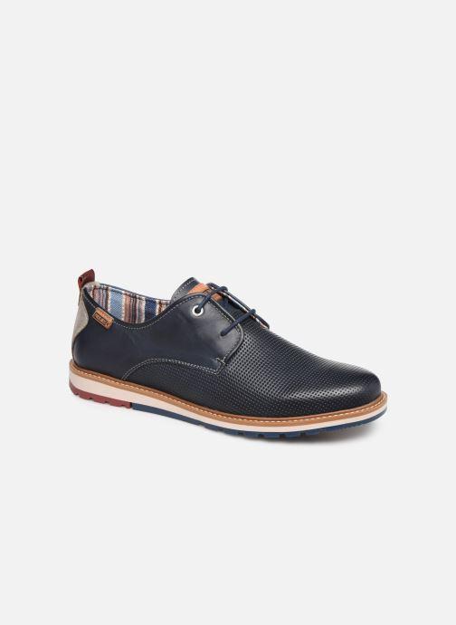 Zapatos con cordones Pikolinos Berna M8J-4273 Azul vista de detalle / par