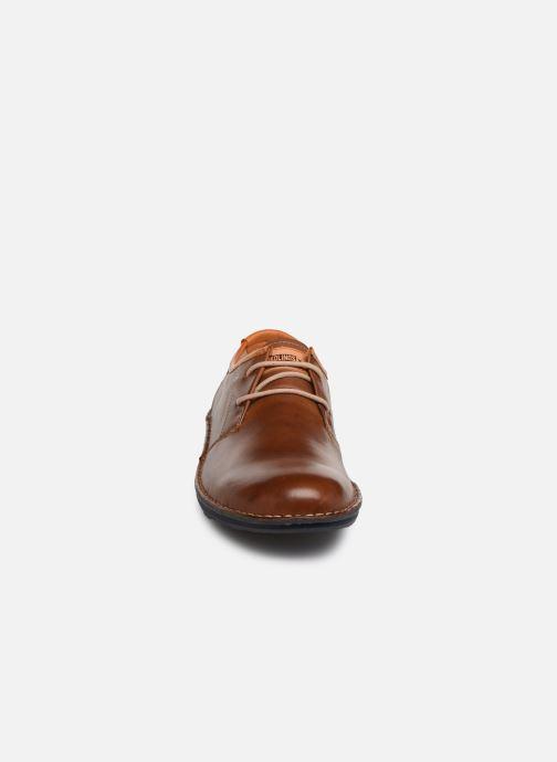 Chaussures À Santiago Lacets M8m Pikolinos 4298 Chez marron I7Rqg