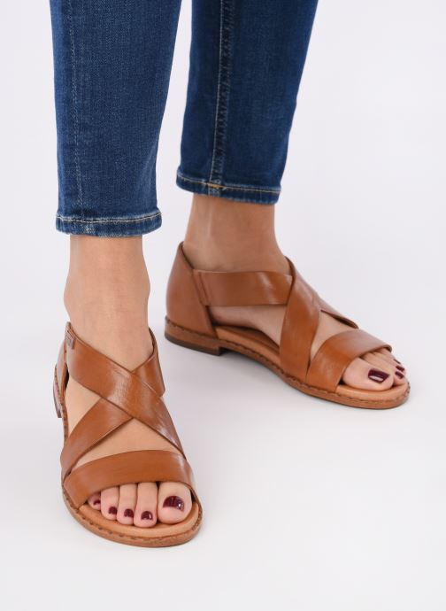 Sandales et nu-pieds Pikolinos Algar W0X-0552 Marron vue bas / vue portée sac