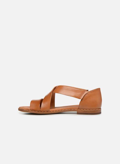 Sandales et nu-pieds Pikolinos Algar W0X-0552 Marron vue face