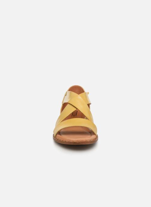 Sandales et nu-pieds Pikolinos Algar W0X-0552 Jaune vue portées chaussures