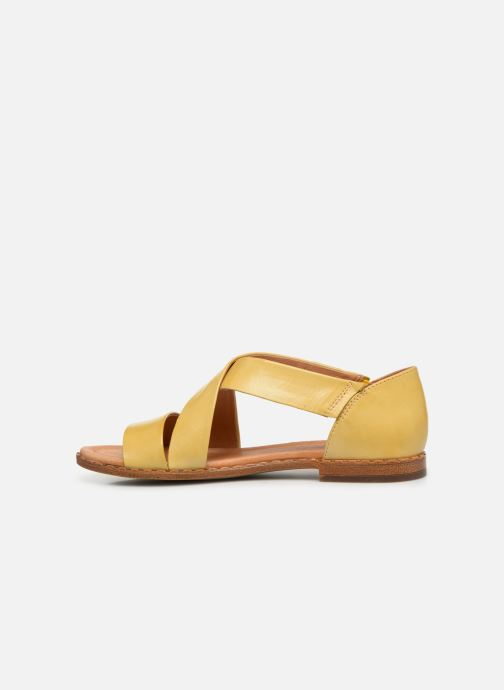 Sandales et nu-pieds Pikolinos Algar W0X-0552 Jaune vue face