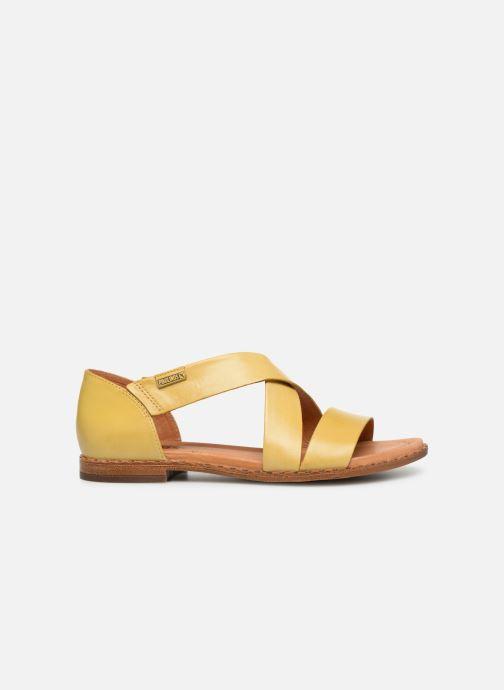 Sandales et nu-pieds Pikolinos Algar W0X-0552 Jaune vue derrière