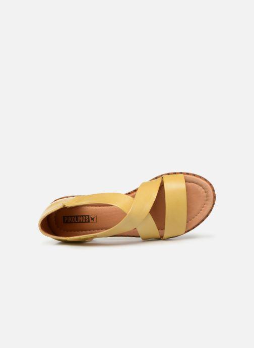 Sandales et nu-pieds Pikolinos Algar W0X-0552 Jaune vue gauche