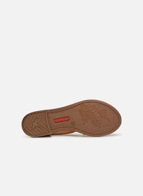 Sandales et nu-pieds Pikolinos Algar W0X-0552 Jaune vue haut