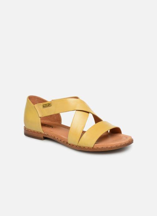Sandales et nu-pieds Pikolinos Algar W0X-0552 Jaune vue détail/paire