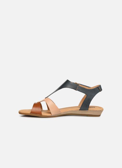 Sandales et nu-pieds Pikolinos Alcudia 816-0752C2 Bleu vue face