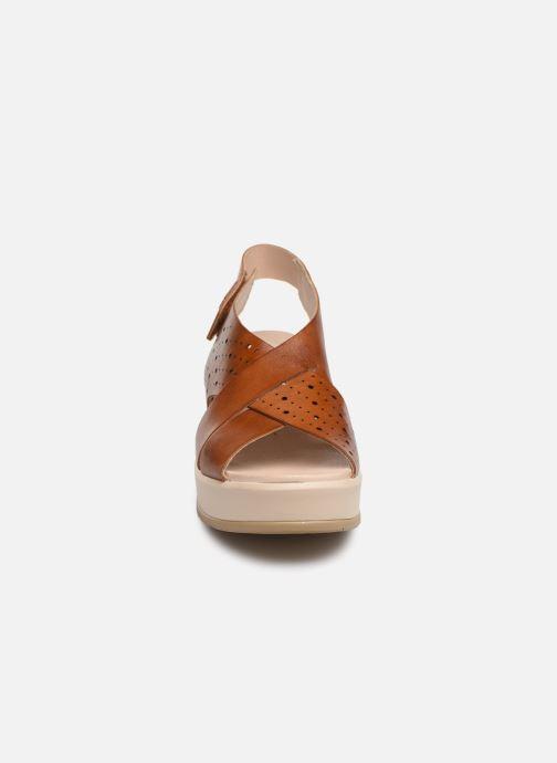 Sandalen Pikolinos Costacabana W3X-1791 braun schuhe getragen