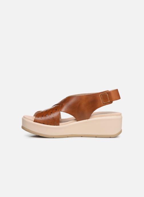 Sandales et nu-pieds Pikolinos Costacabana W3X-1791 Marron vue face