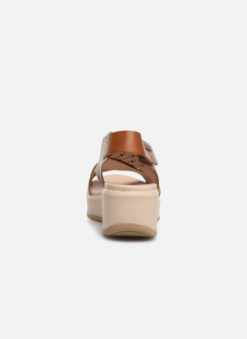 Sandales et nu-pieds Pikolinos Costacabana W3X-1791 Marron vue droite