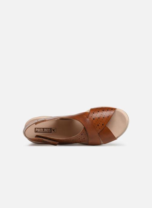Sandales et nu-pieds Pikolinos Costacabana W3X-1791 Marron vue gauche