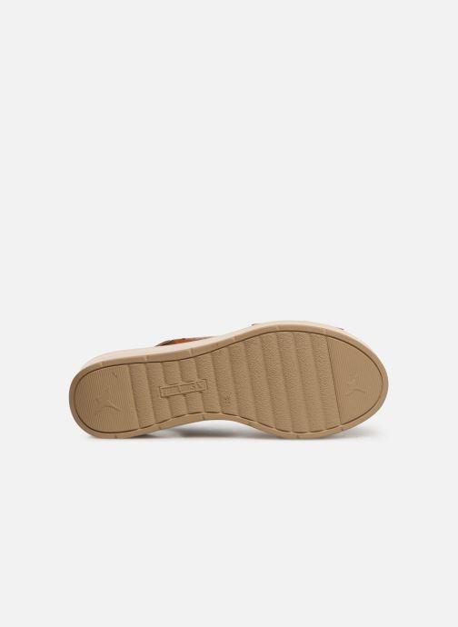Sandales et nu-pieds Pikolinos Costacabana W3X-1791 Marron vue haut