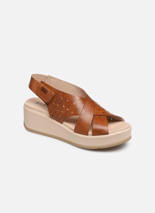 Sandales et nu-pieds Pikolinos Costacabana W3X-1791 Marron vue détail/paire