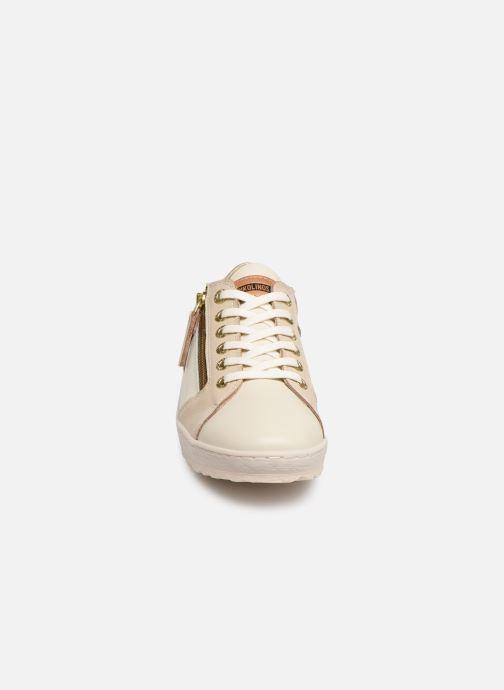 Baskets Pikolinos Lagos 901-6766C1 Beige vue portées chaussures